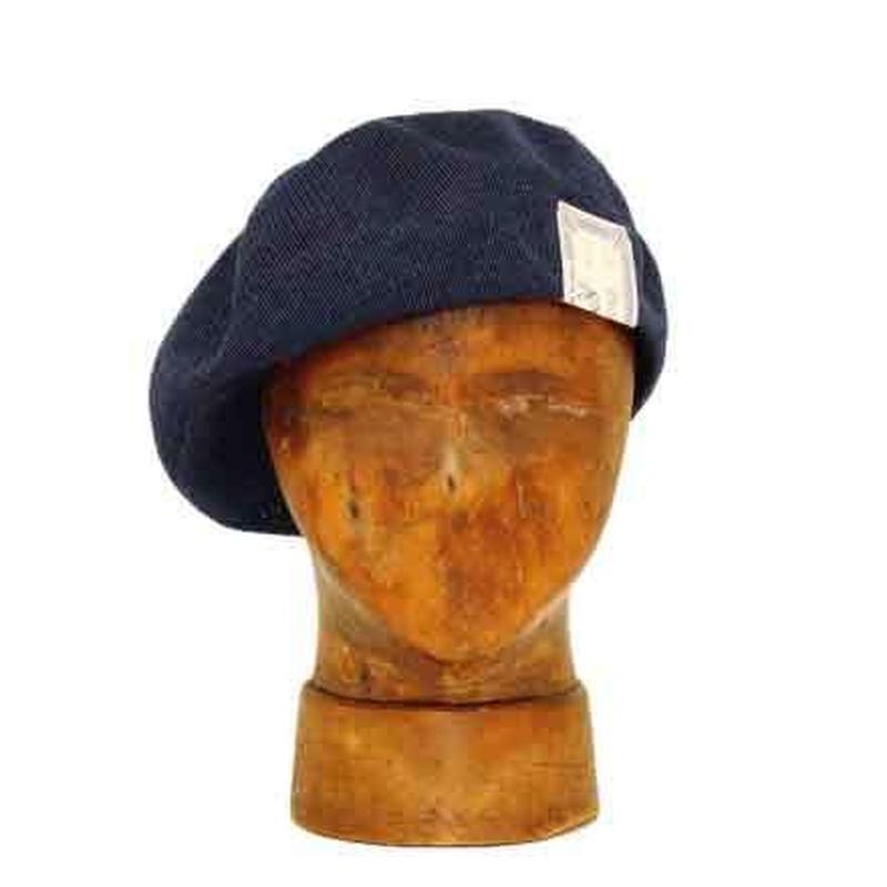 THE H.W. DOG&CO. - サマー ベレー帽 (インディゴ) (PW6200)