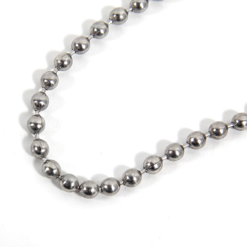 CODY SANDERSON - Stainless Ball Chain Necklace 24""