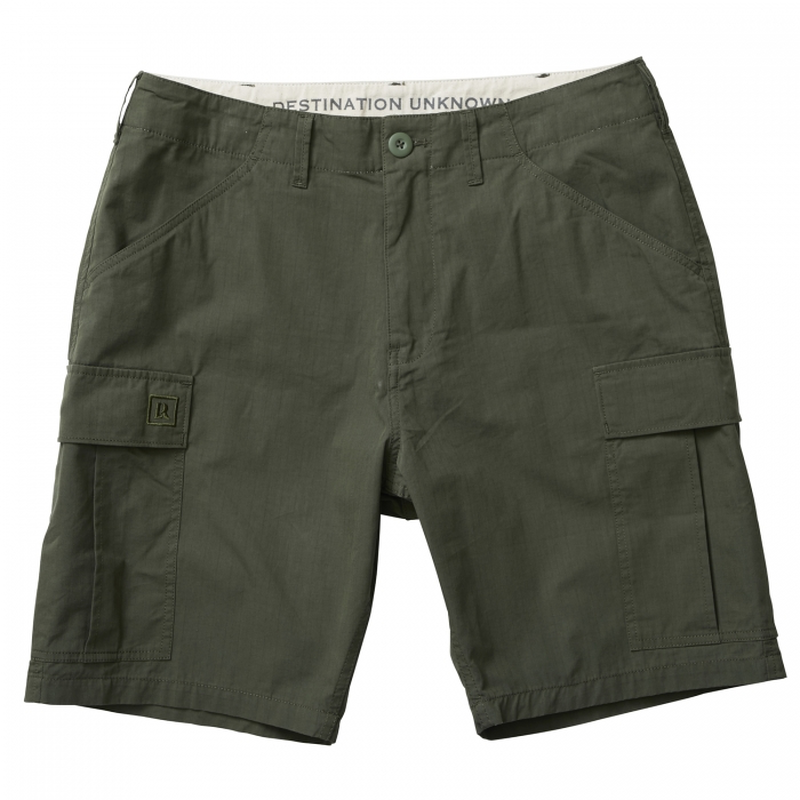 LIBERAIDERS - 6 POCKET ARMY SHORTS (オリーブ/ブラック)
