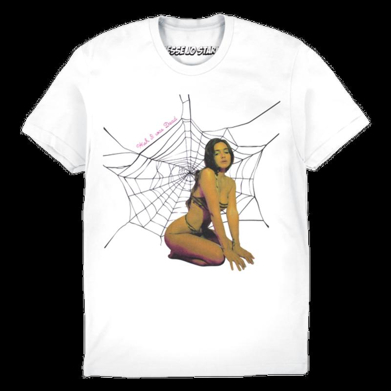 Jesse Jo Stark - SPIDER WEB TEE (ホワイト)
