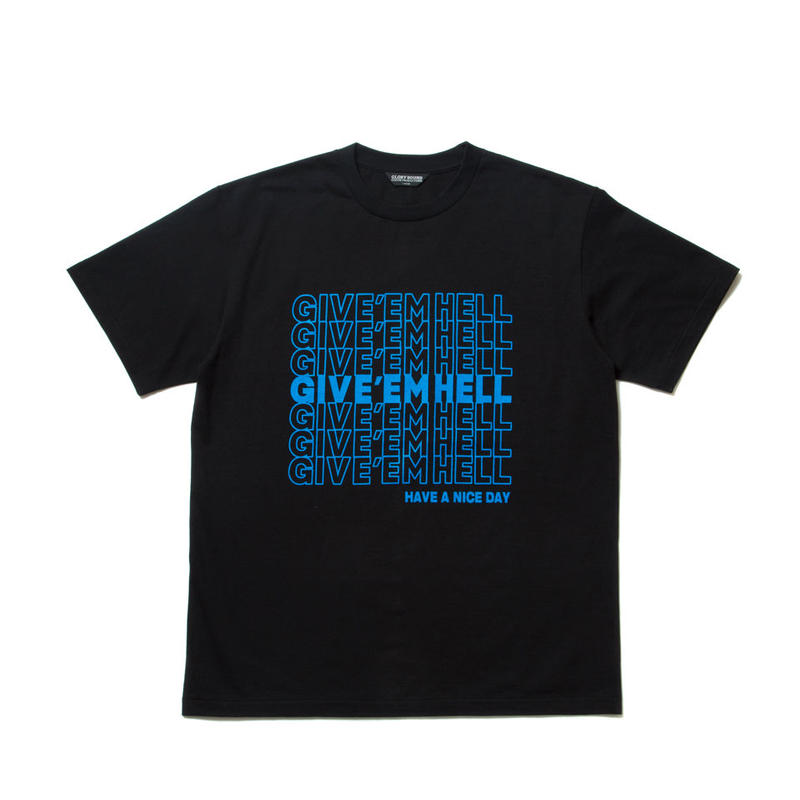 COOTIE - Print S/S Tee (GIVE'EM HELL)