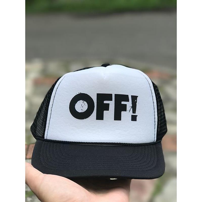 OFF! Logo メッシュキャップ