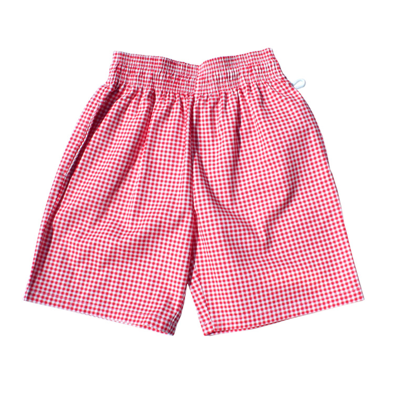COOKMAN - Chef Short Pants 「Gingham」 Red