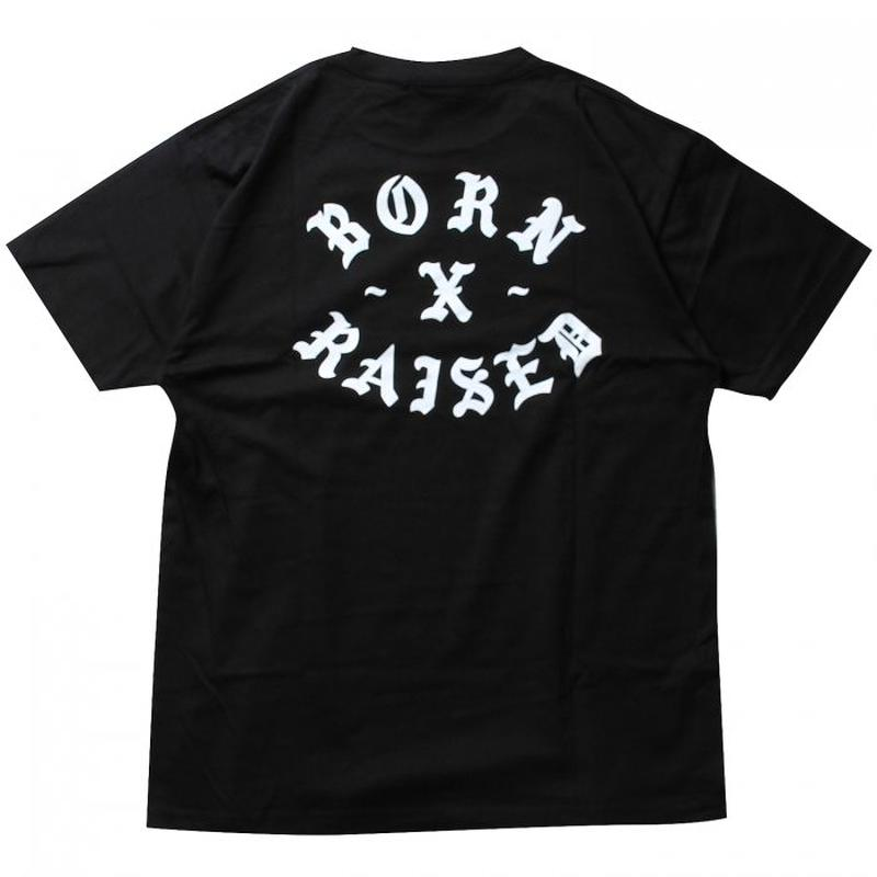 BORN X RAISED - SNOOTY FOX TEE (ブラック)