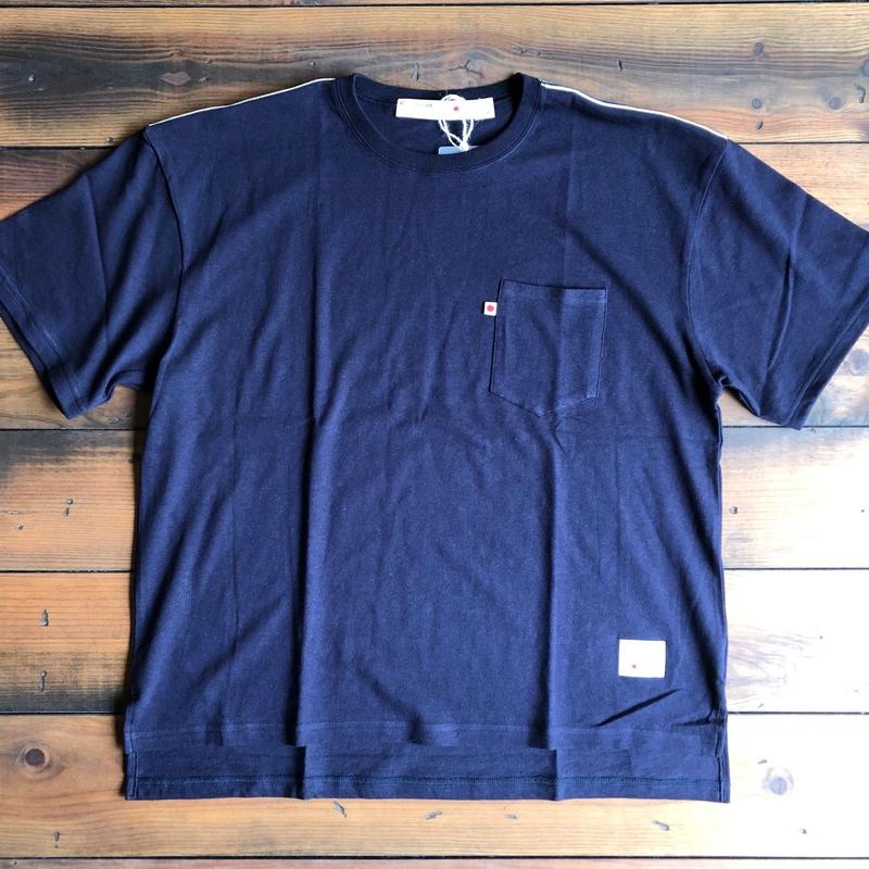 BLUE SAKURA - BIG T-SHIRT【NAVY】/ BS-BCS1-NV