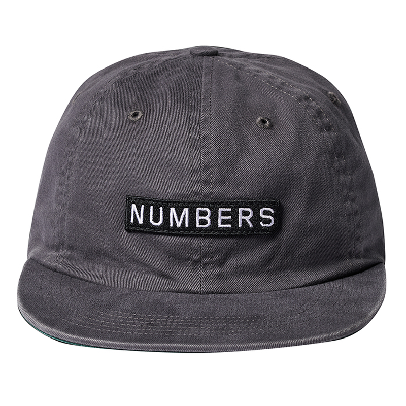 NUMBERS edition - EDITION WORDMARK - DENIM 6-PANEL HAT