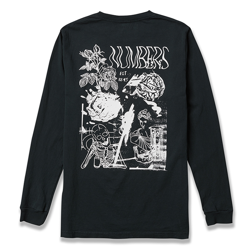 NUMBERS edition - COLLAGE - L/S T-SHIRT
