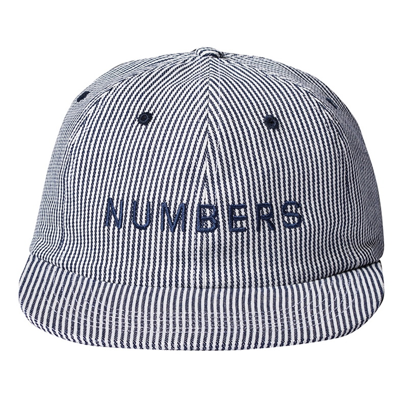 NUMBERS edition - WORDMARK - DENIM 6-PANEL HAT