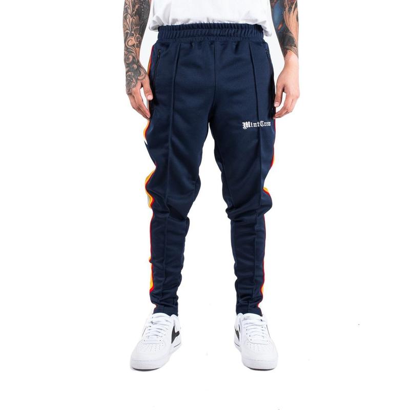 MintCrew - Roadman Track Pants (ネイビー)