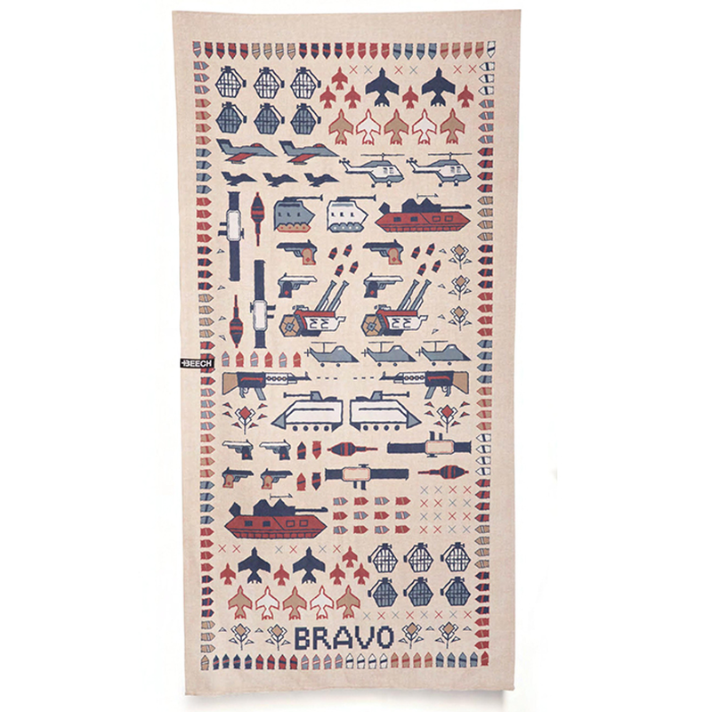 bravo - BEACH TOWEL BLOCKⅠ