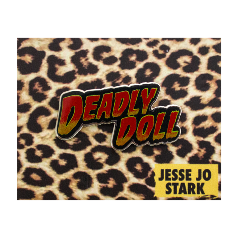 Jesse Jo Stark - Deadly doll pin (ピンバッジ)