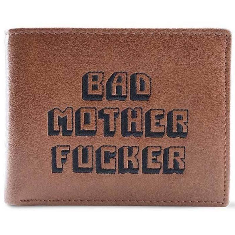 BAD MOTHER FUCKER WALLET (ブラウン)