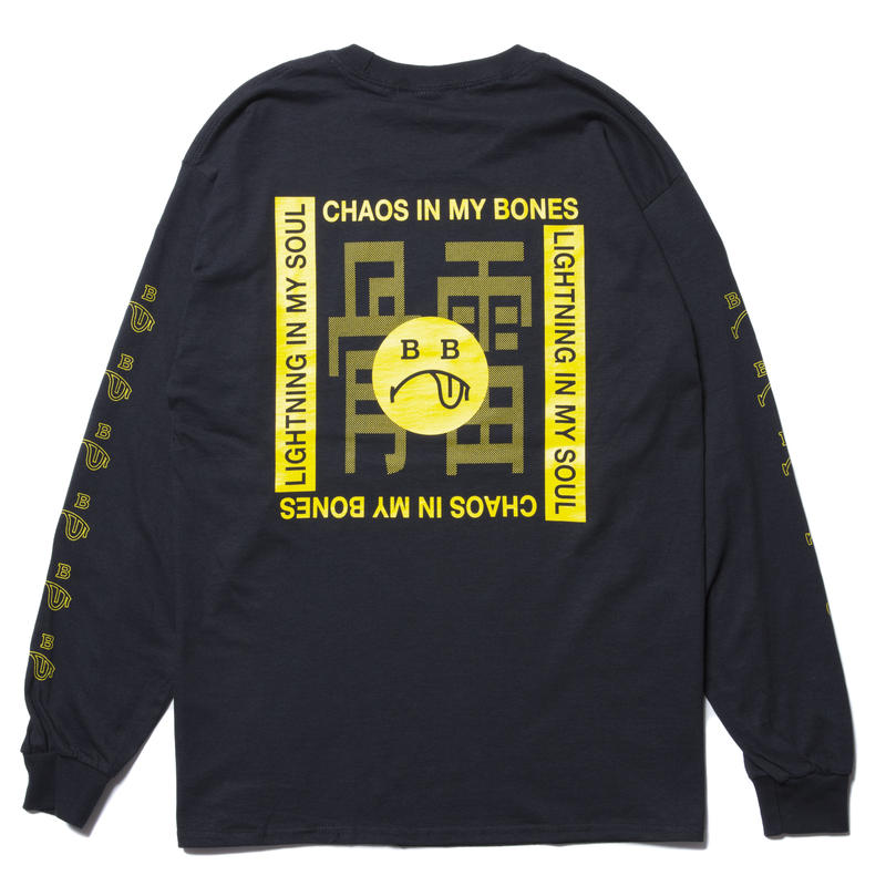 BONES AND BOLTS - L/S TEE (BERO) ブラック