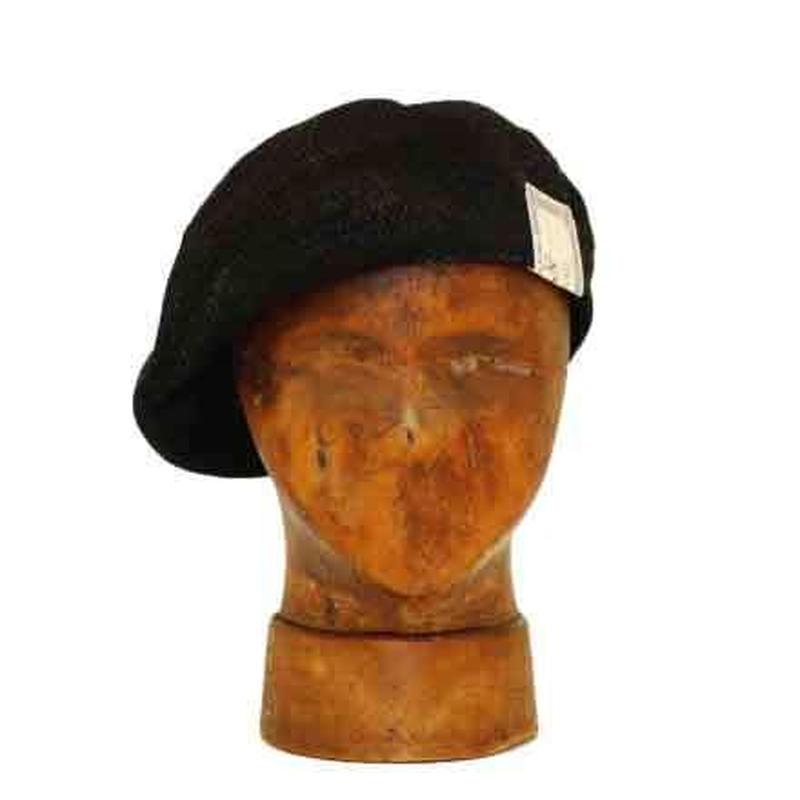 THE H.W. DOG&CO. - サマー ベレー帽 (ブラック) (PW6200)