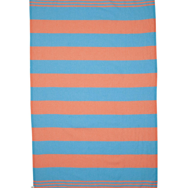 MAYDE - KIRRA TOWEL - TURQUISE / CORAL