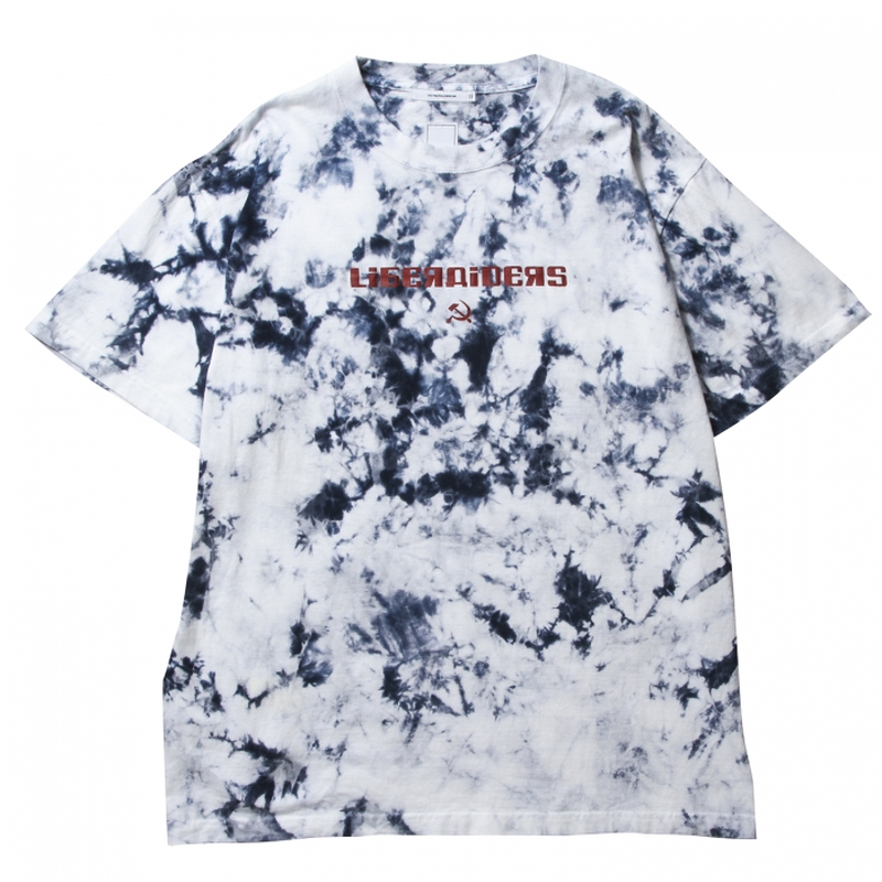 LIBERAIDERS - ACID DYED LOGO TEE 71601