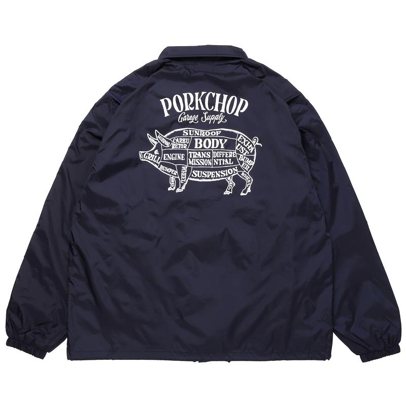 PORKCHOP - PORK BACK COACH JKT/NAVY