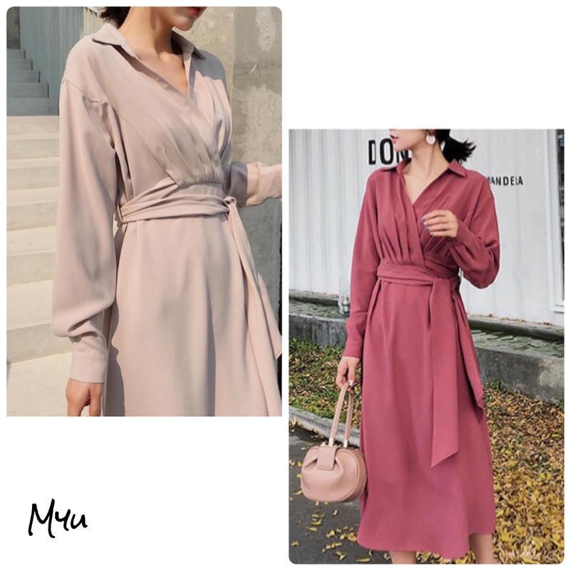 受注発注【LADIES】Cache-coeur A line dress
