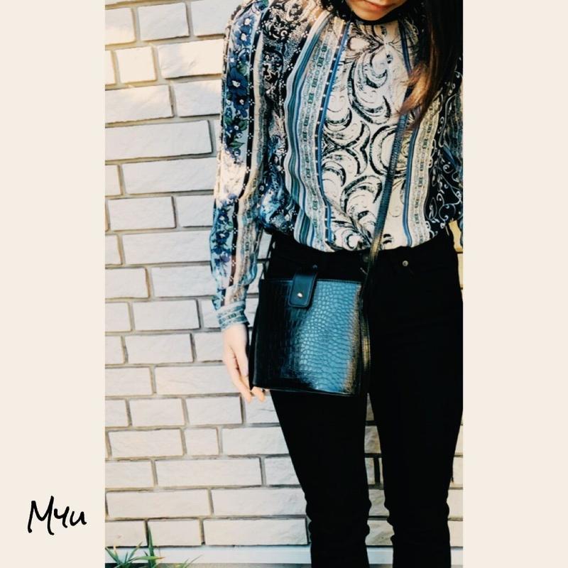 即納【Mom】Croc shoulder bag
