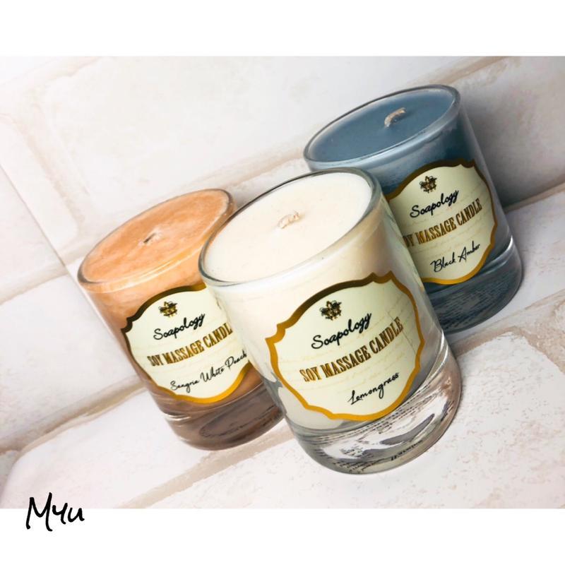 即納🇺🇸Soapology Soy Massage Candle