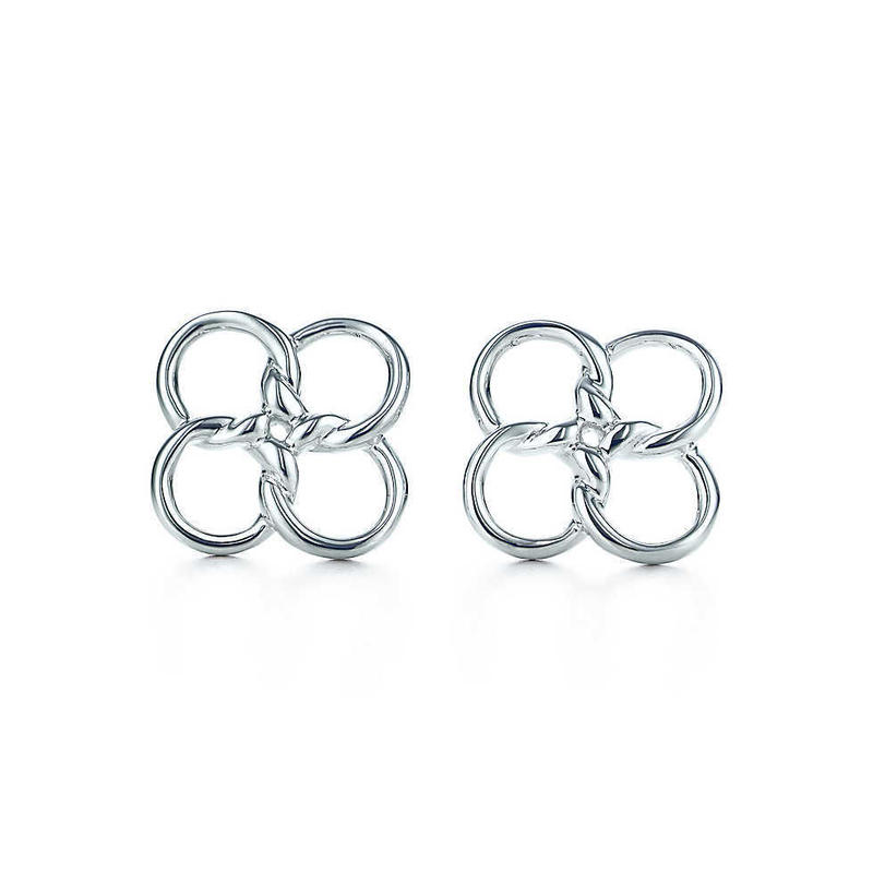 日本未入荷【Elsa Peretti®︎】Quadrifoglio Earrings