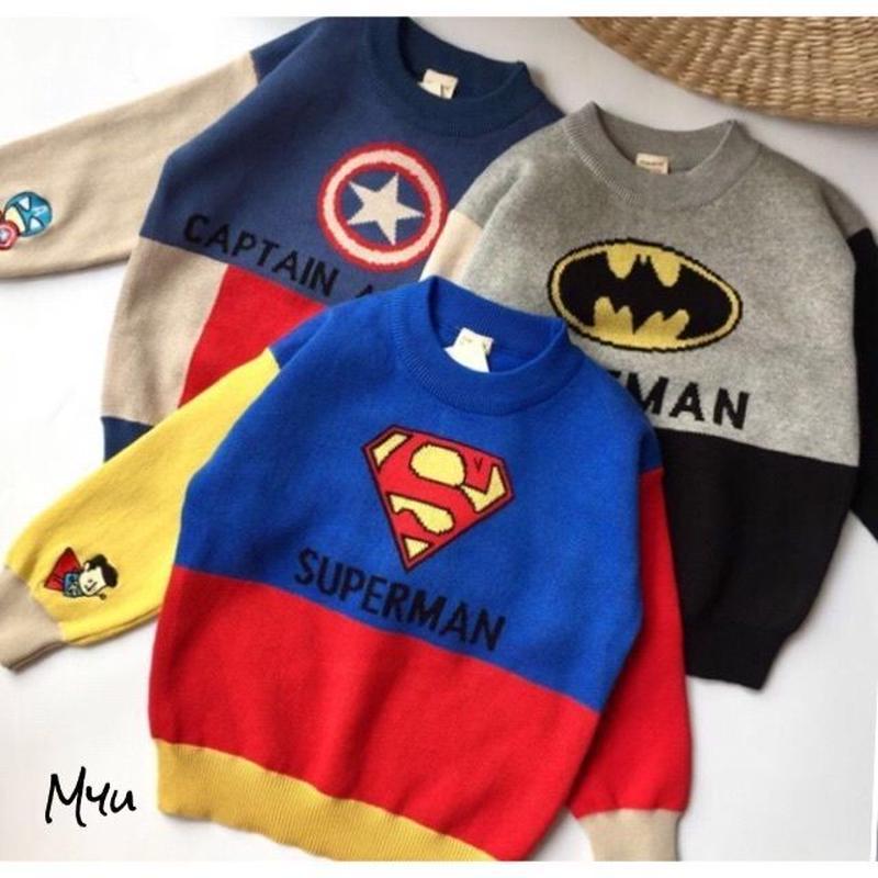 即納【100〜140cm】Hero's knit