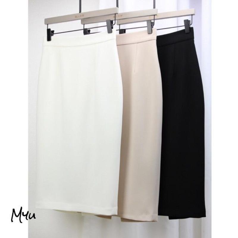 受注発注【LADIES】Simple tight skirt
