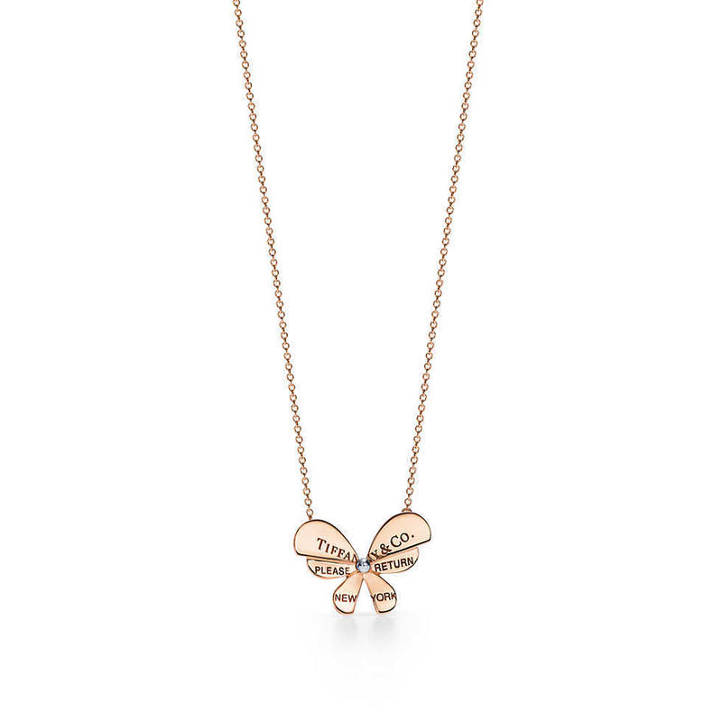 日本未入荷【Return to Tiffany®︎】Butterfly Pendant