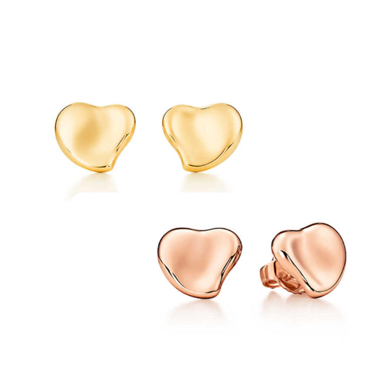 日本未入荷【Elsa Peretti®︎】Full  Heart Earrings