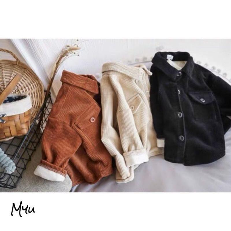 【80〜130cm】Corduroy jacket