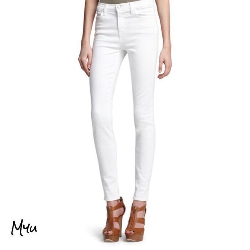 受注発注【LADIES】 J BRAND Maria high rise skinny jeans