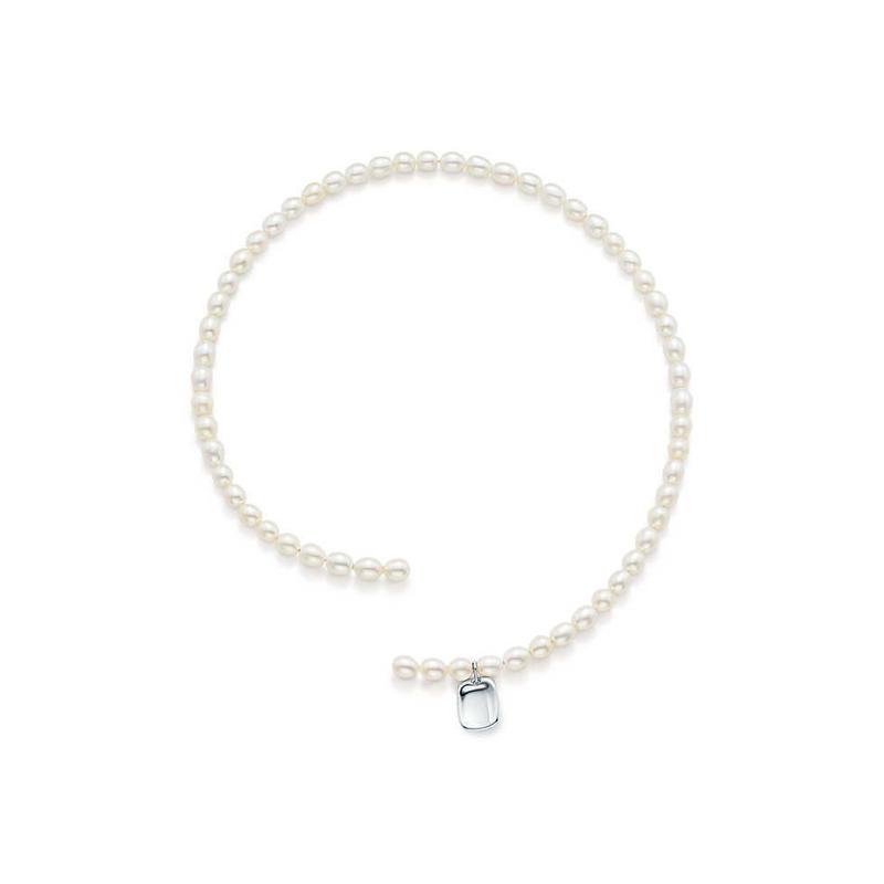 日本未入荷【Elsa Peretti®︎】Pearl Tag Necklace