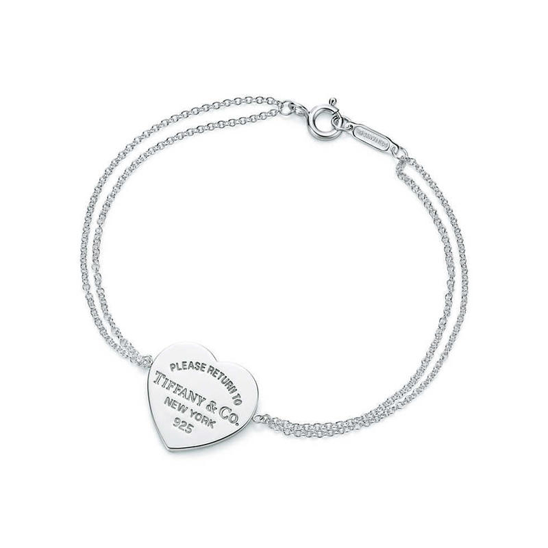 日本未入荷【Return to Tiffany®︎】 Heart Tag Bracelet