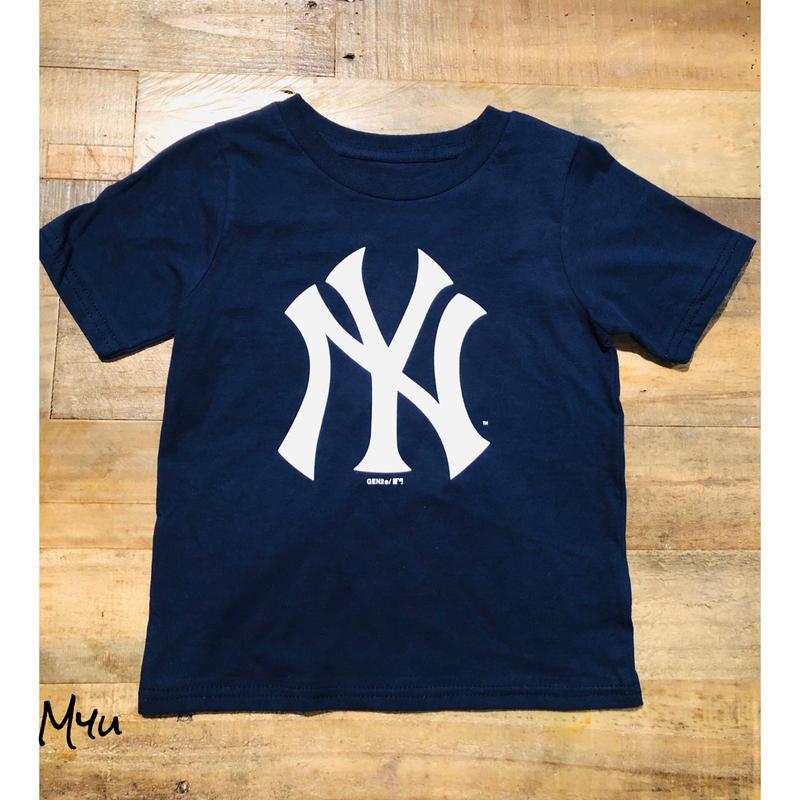 即納🇺🇸【100〜110cm】NEW YORK YANKEES T-SHIRT