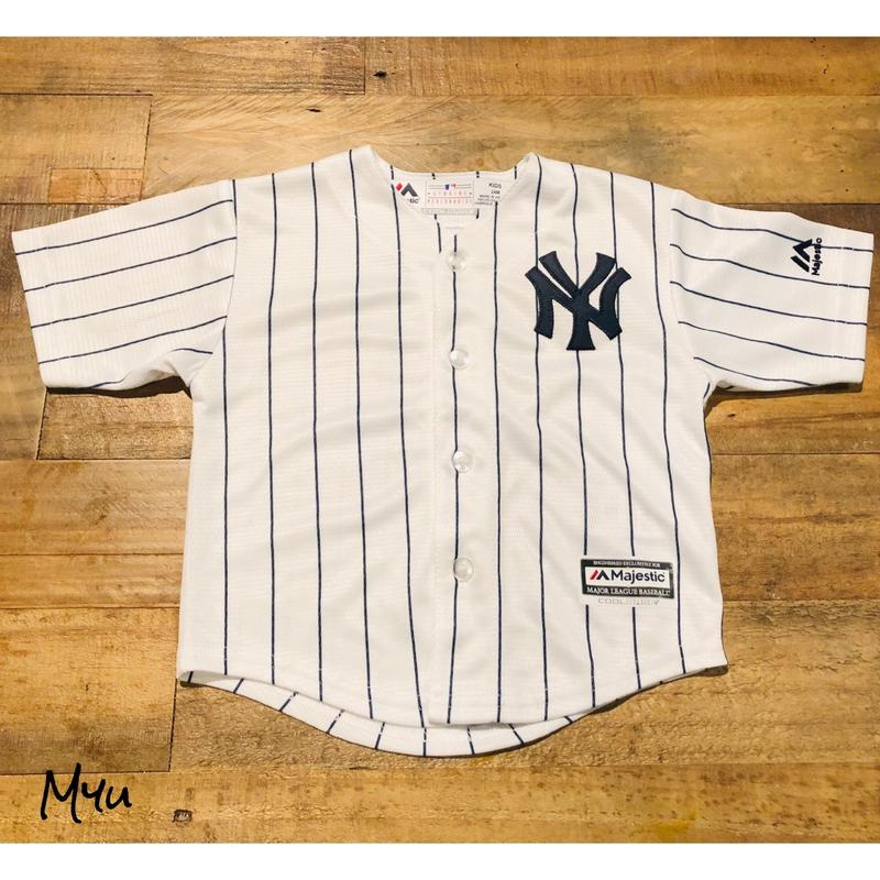 即納🇺🇸【90〜110cm】NEW YORK YANKEES SHIRT