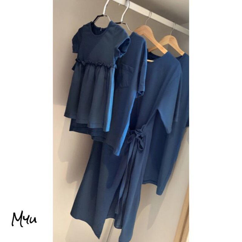 受注発注【Kids dress】Simple casual dress