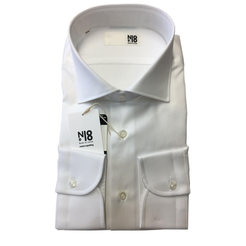 N.18 超撥水 dress shirts WIDE made in japan