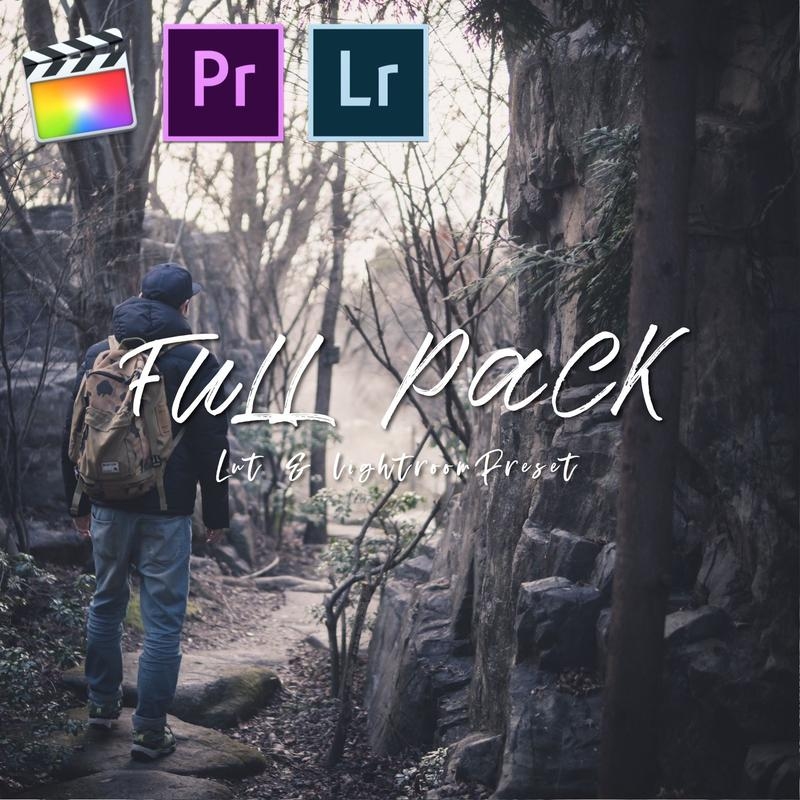 LUT & Lightroom PRESET FULL PACK