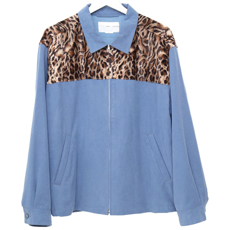【SALE】Leopard shoulder swing-top