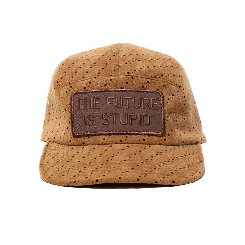 【SALE】Punching fake suede - jet cap / col.beg