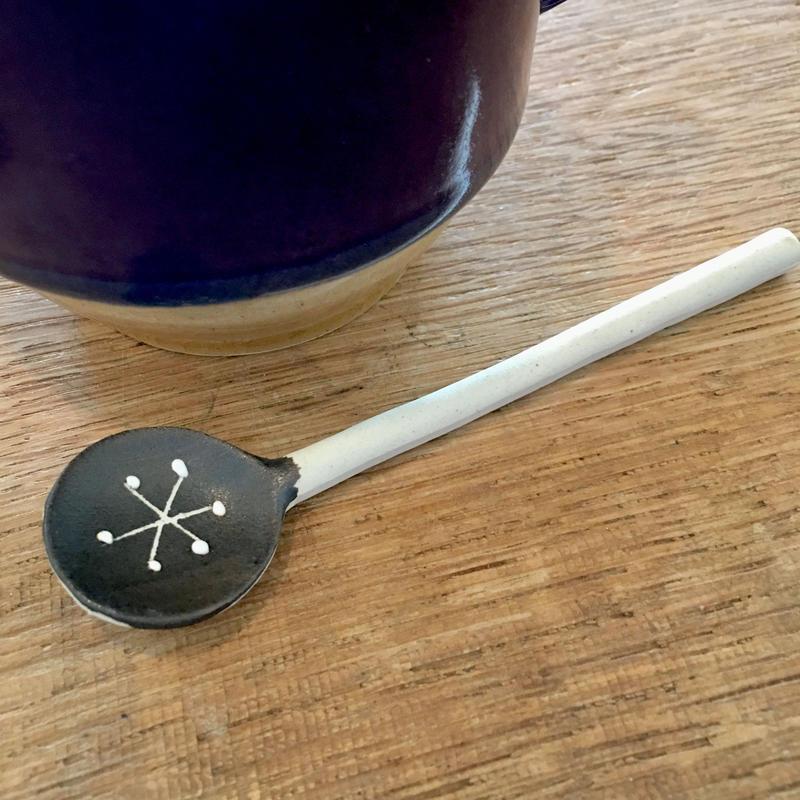 陶器スプーン アスタリスク