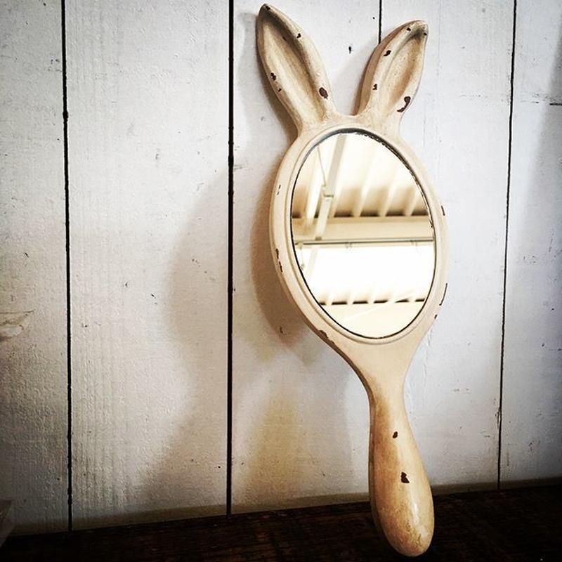 うさぎの手鏡
