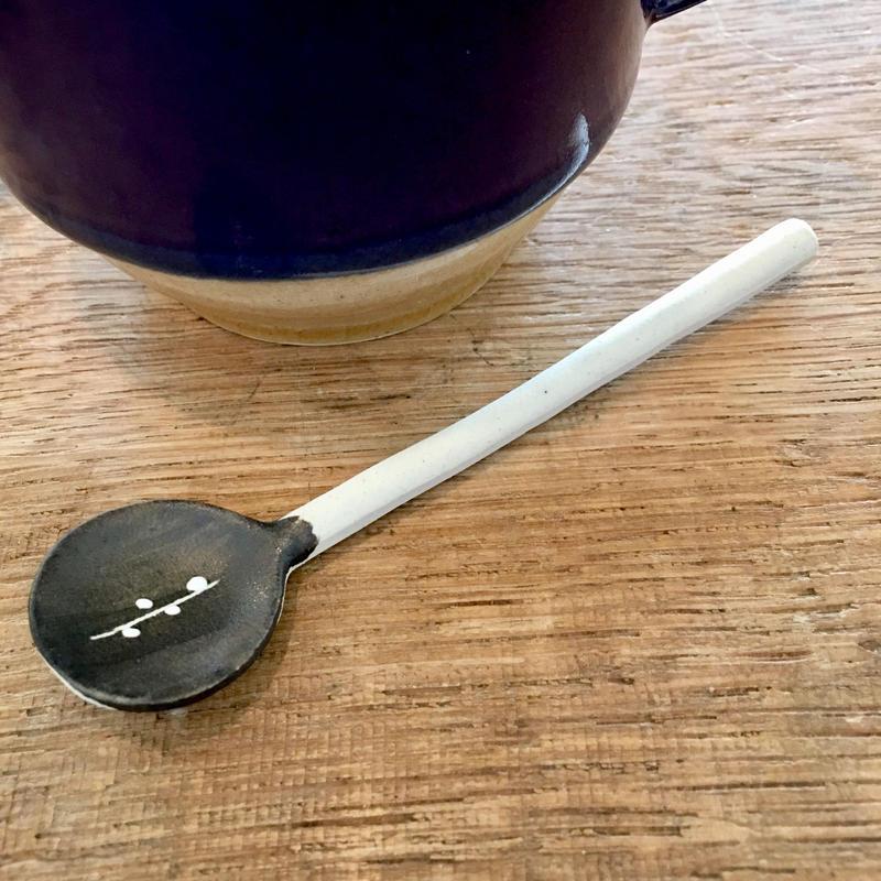 陶器スプーン ストレート