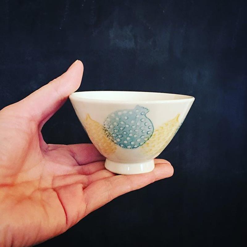 小さな飯碗  丸紋