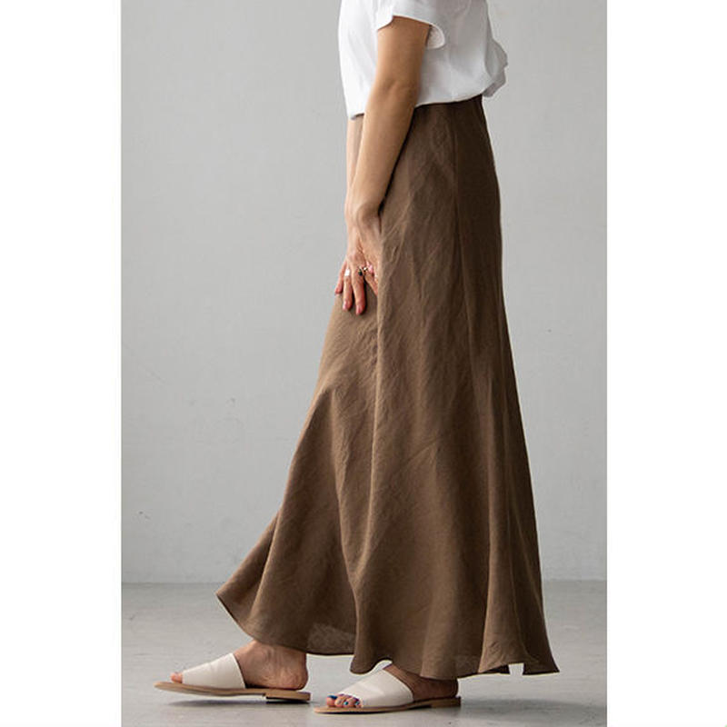 Linen Mermaid Skirt