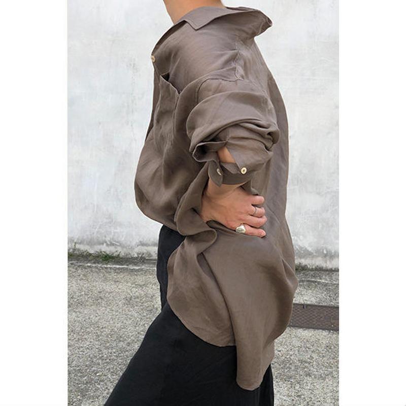 Linen Belt shirt