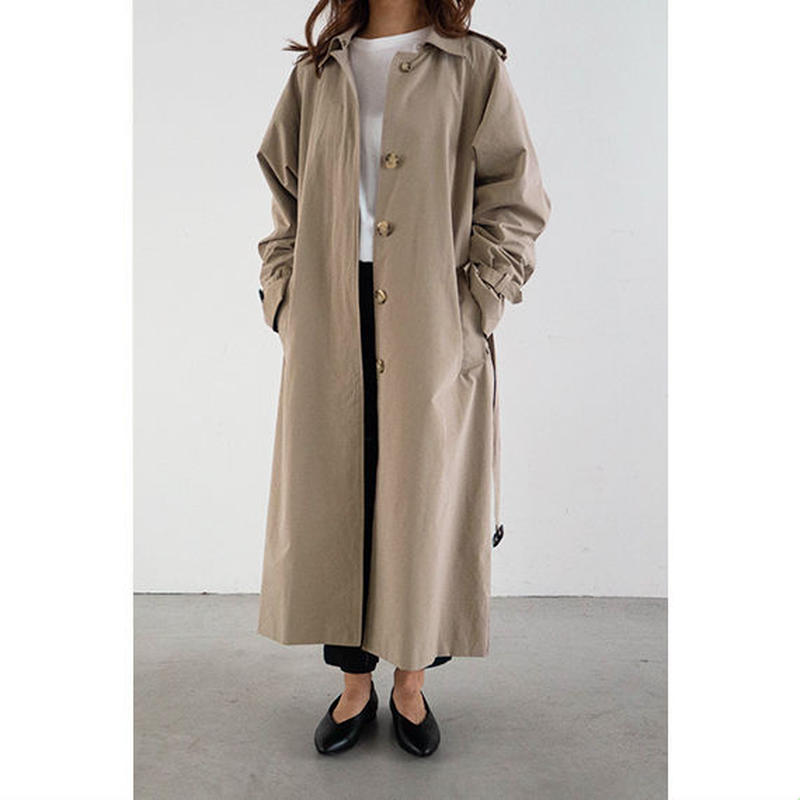 【Limited】Single Trench coat