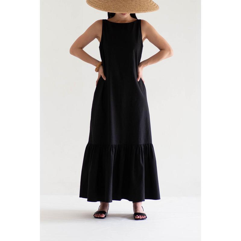 Reversible flare dress
