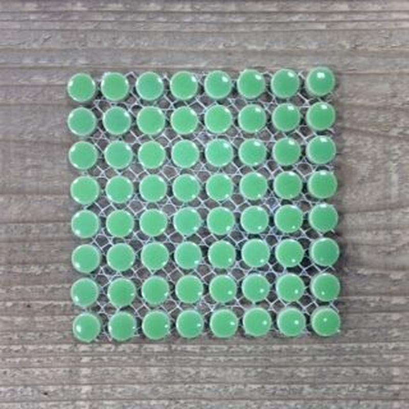 【タイル】プチマルM30-E グリーン