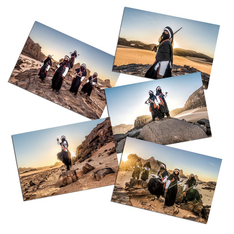 【ポストカード】Tuareg Collection  5枚セット